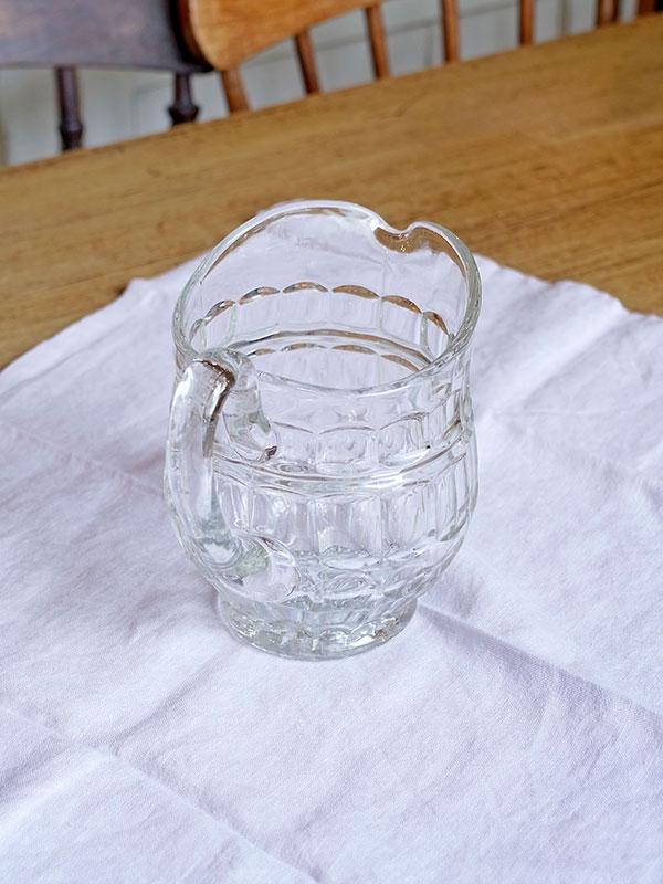 KL34g アンティーク ガラスジャグ