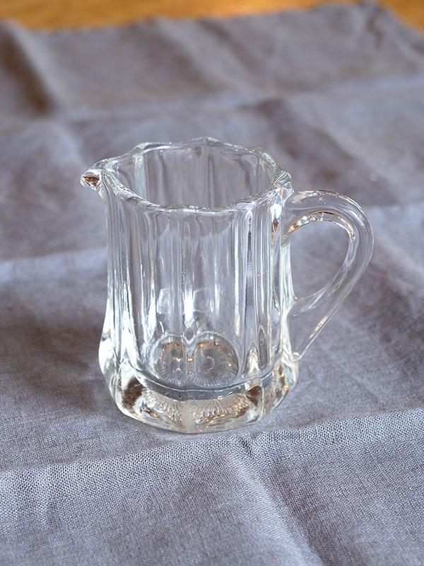KL34b・d アンティーク スモールガラスジャグ