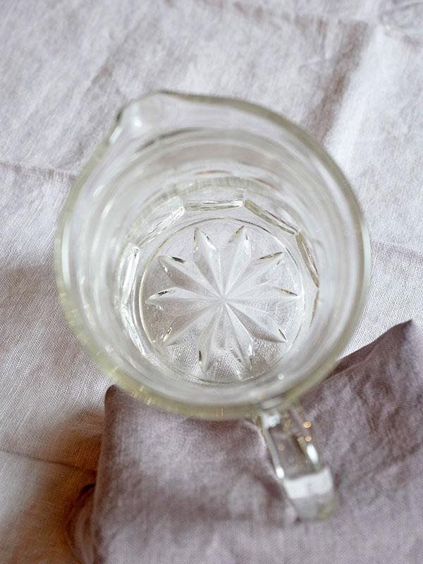 KL34f アンティーク ガラスジャグ