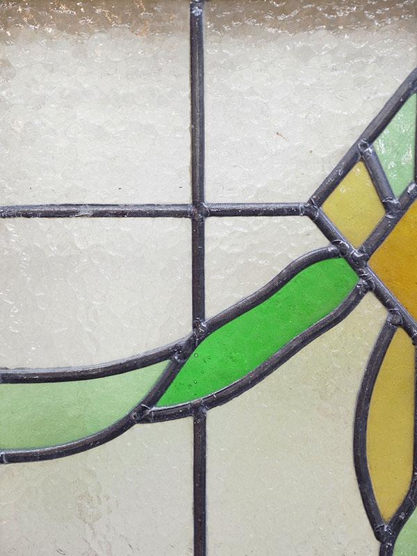 KL120-6 アンティーク ステンドガラス