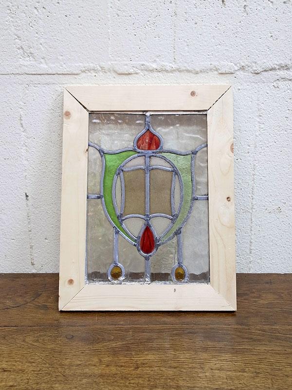 KL120-1 アンティーク ステンドガラス