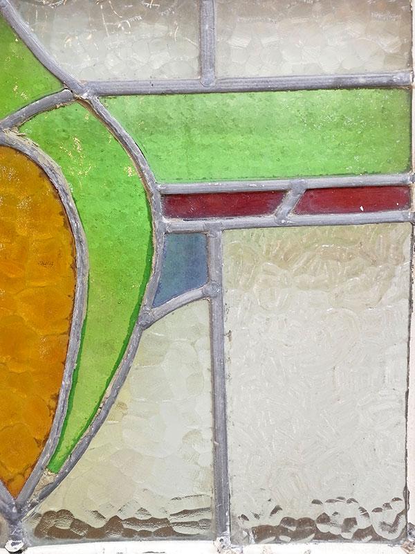 KL120-4 アンティーク ステンドガラス