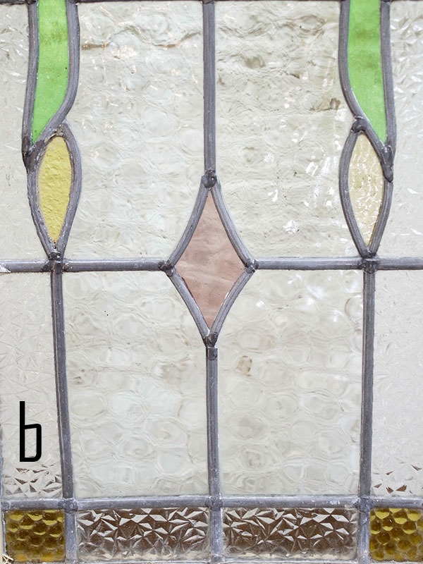 KL120-10 アンティーク ステンドガラス