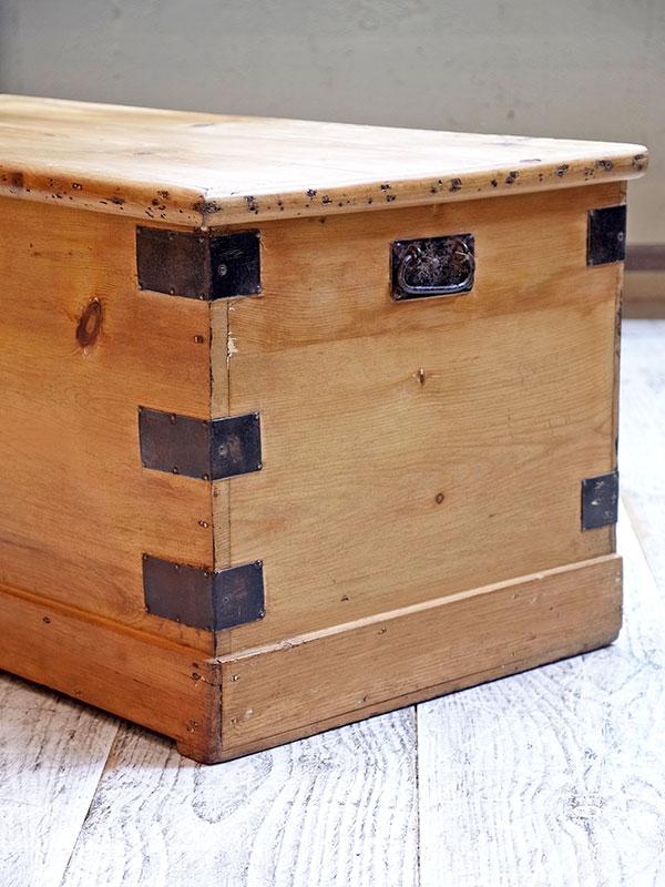 KL57b アンティークパイン ボックス