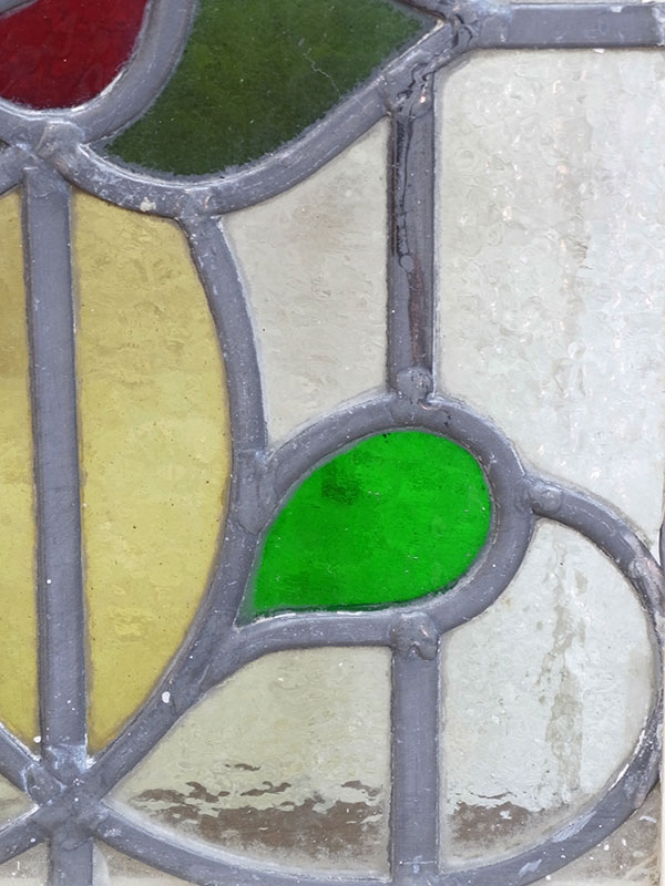 KL120-2 アンティーク ステンドガラス