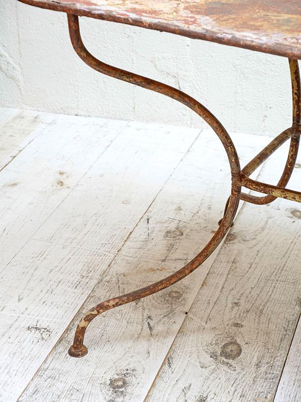 KA162 アンティーク フレンチガーデンテーブル