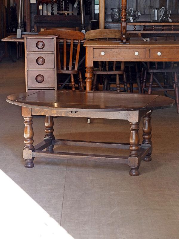 KJ62a オークコーヒーテーブル
