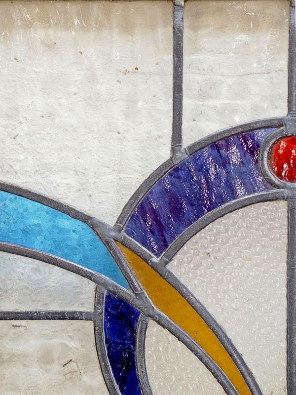 KL120-14 アンティーク ステンドガラス