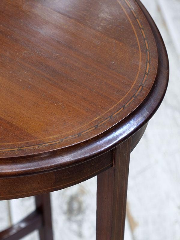 KJ211 アンティーク マホガニーサイドテーブル