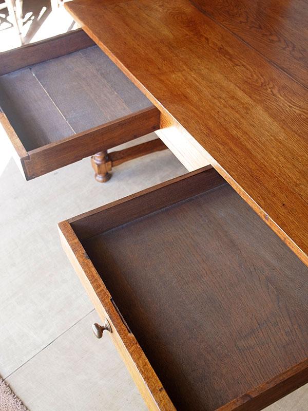 KP136 アンティーク フレンチオークテーブル