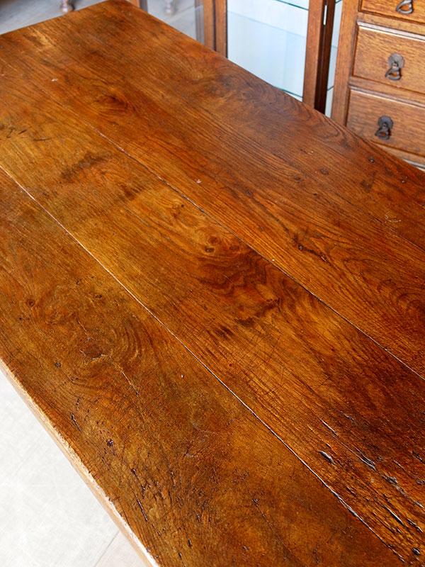 KP134 アンティーク フレンチオークテーブル