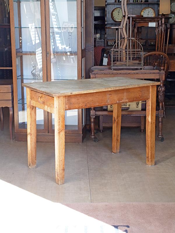 KP96b アンティークパイン テーブル