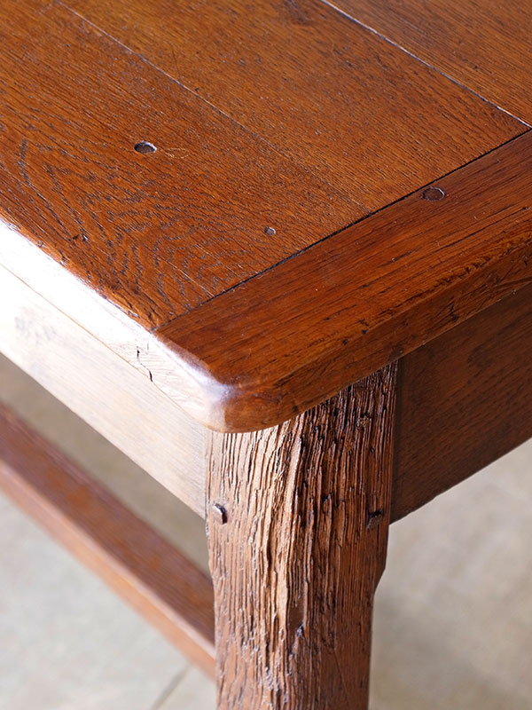 KP137 アンティーク フレンチオークテーブル