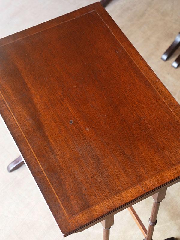 KP173 アンティーク マホガニーネストテーブル
