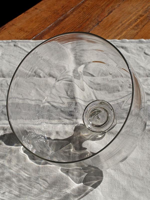 KP29d アンティーク ガラスドームカバー