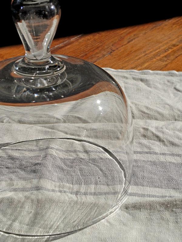 KP29e アンティーク ガラスドームカバー