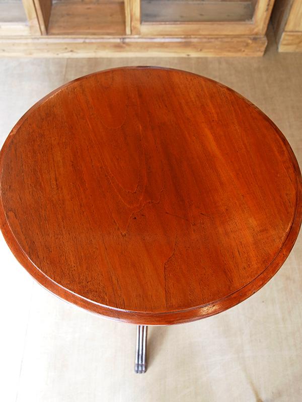 KM23 アンティーク マホガニーラウンドテーブル