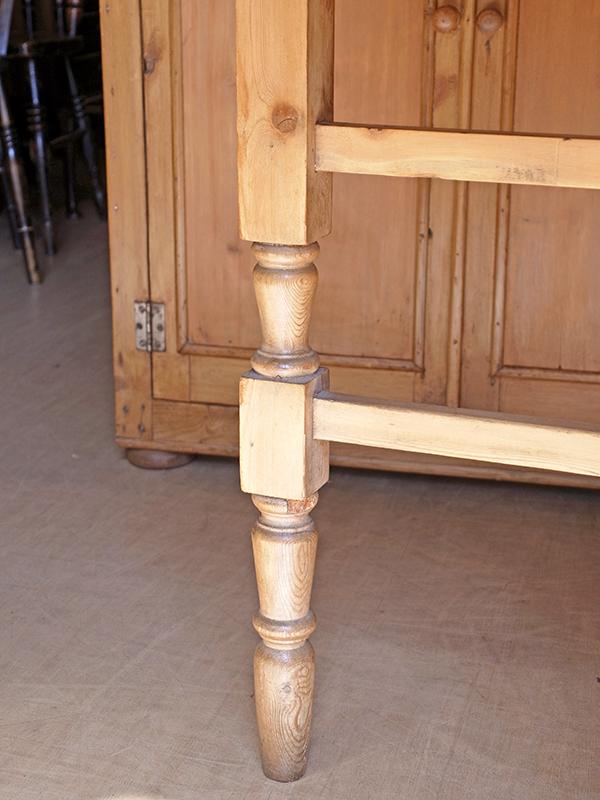 KP60 アンティークパイン ゲイトレッグテーブル
