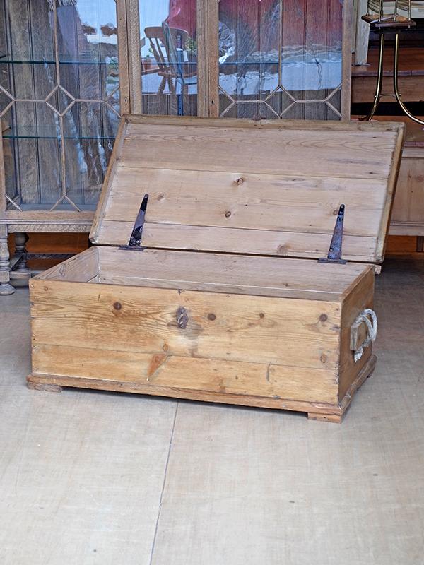 KP81c アンティークパイン ボックス