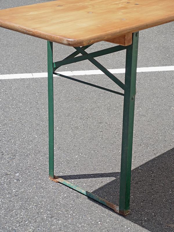 KP61a アンティーク フォールディングテーブル
