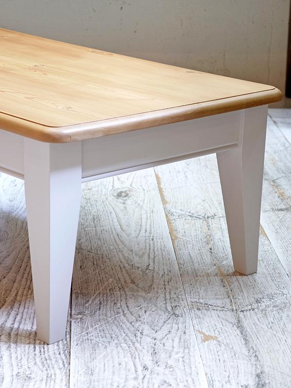 PJ996 ユーズド ペイントコーヒーテーブル