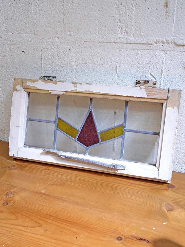 KA67i アンティーク ステンドガラス
