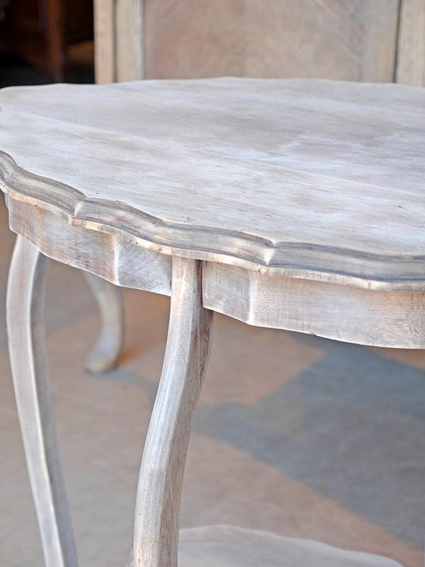 PJ1057 アンティーク マホガニーサイドテーブル