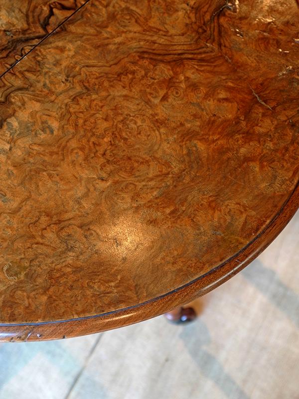 PJ1006a アンティーク スモールゲイトレッグテーブル