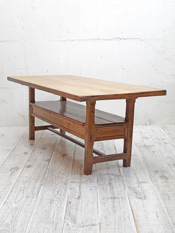 KP45 アンティークパイン テーブル