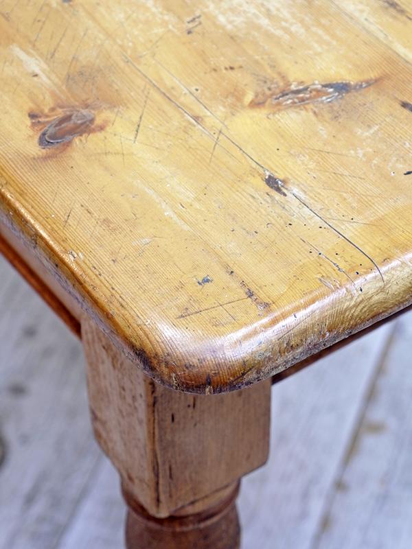 KP204 アンティークパイン テーブル