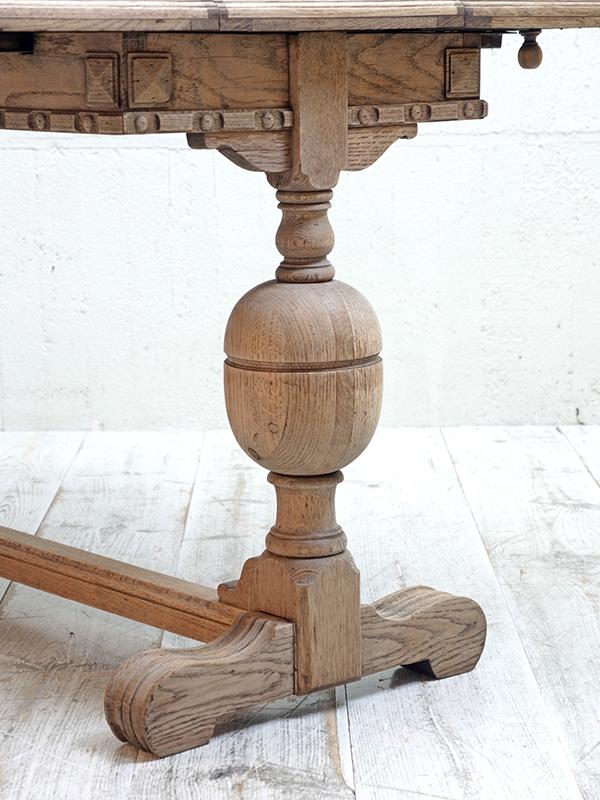 PJ1037 アンティーク オークサプライズテーブル