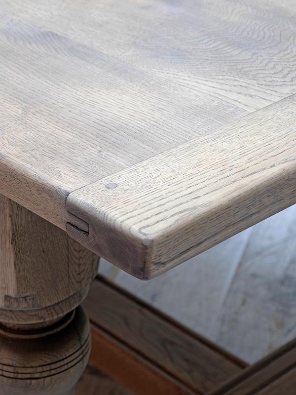 PJ1071 アンティーク ビックオークテーブル