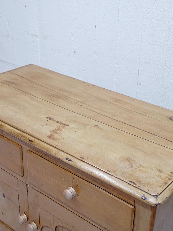 PJ1128 アンティークパイン サイドボード