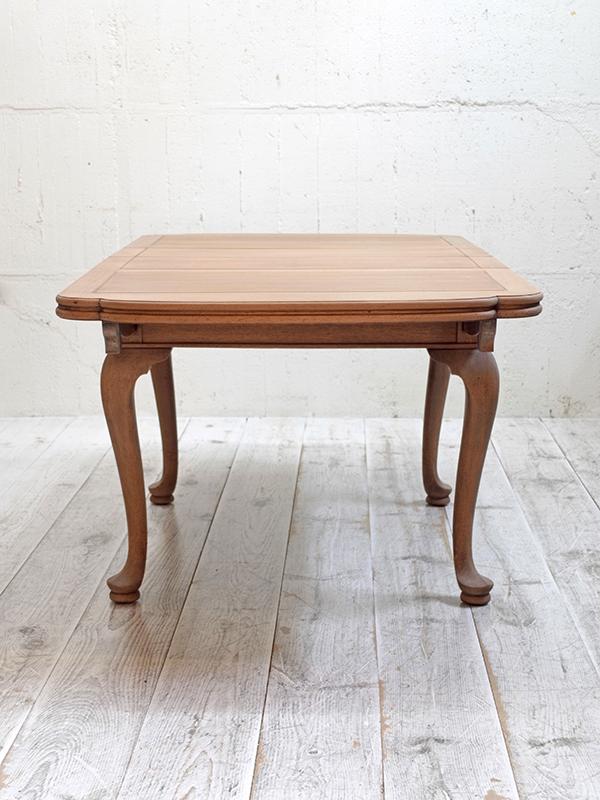 PJ1143 アンティーク マホガニーポップアップテーブル