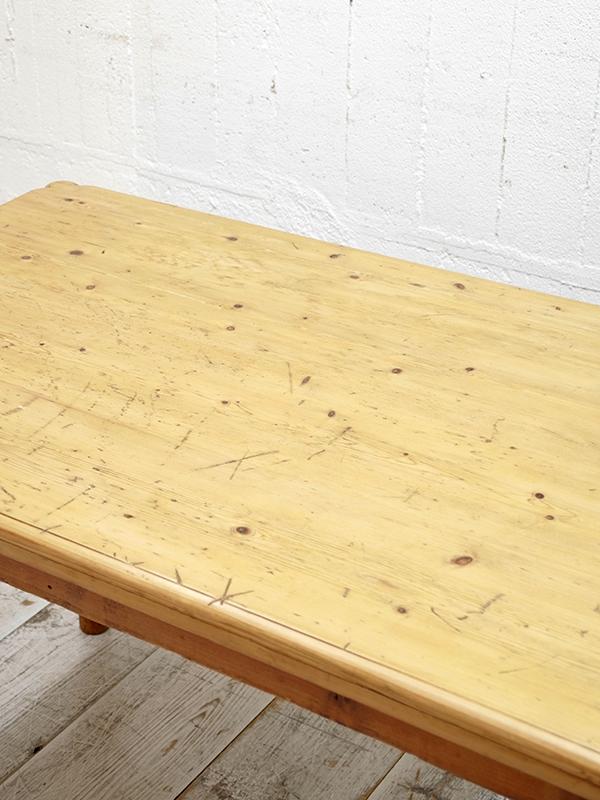 PJ1108 アンティークパイン テーブル