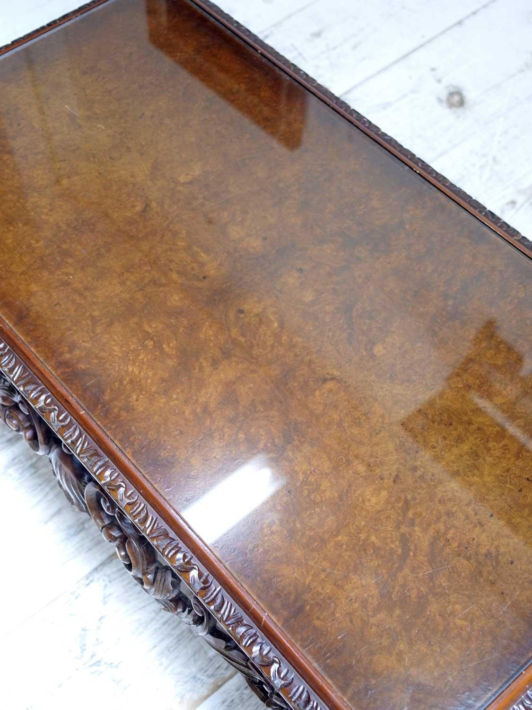 KQ20 アンティーク ウォールナットコーヒーテーブル