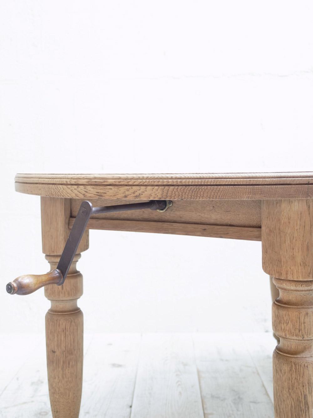 PJ1171 アンティーク オークエクステンションテーブル