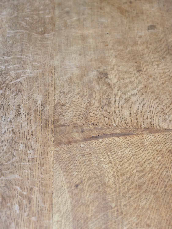 PJ1160 アンティーク オークリフェクトリーテーブル