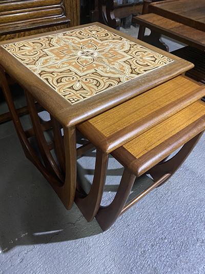 KQ179 アンティーク ネストテーブル